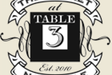 Table 3 Restaurant & Market
