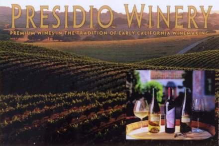Presidio Winery and Vineyard