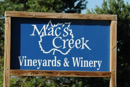 Mac's Creek Winery and Vineyards