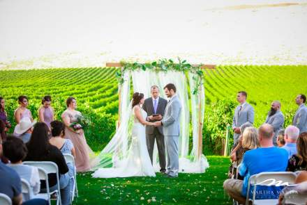 Badger Mountain Vineyard Wedding